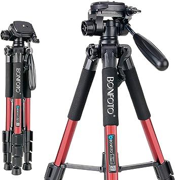 Professional Dual Handle Aluminum 67 Tripod for Leica D-LUX 4 Bubble Level
