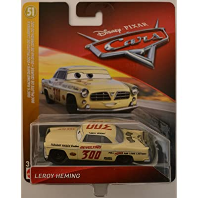 Disney/Pixar Cars Leroy Heming Doc's Racing Days Series 1:55 Scale Collectible Die Cast Model Car: Toys & Games