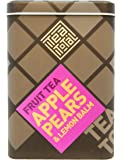 Tea total (ティートータル) / アップル & ピアー 100g入り缶タイプ ニュージーランド産 (フルーツティー / フレーバーティー / ノンカフェイン / ドライフルーツ) 【並行輸入品】