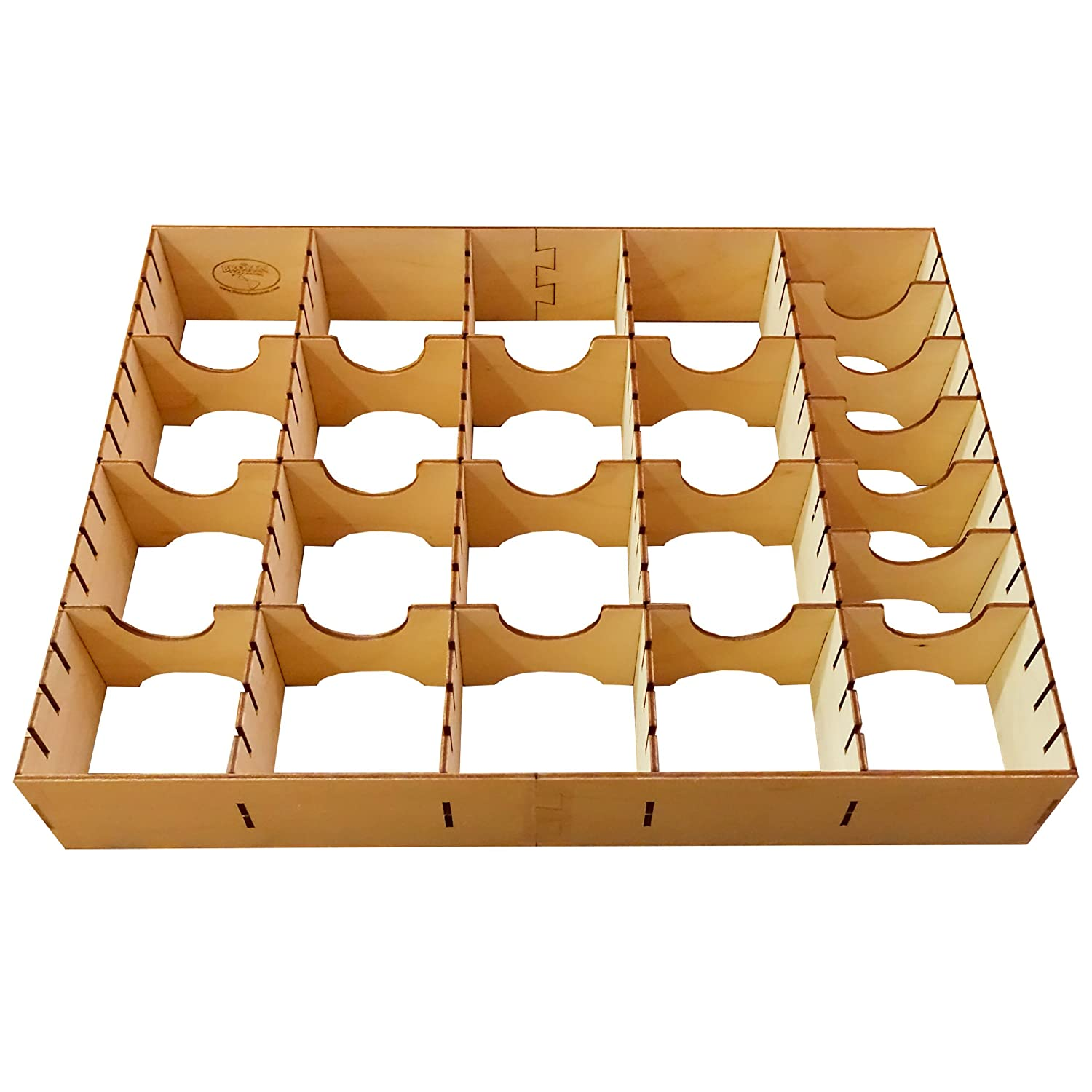 Broken Token Standard-sized Card Organizer for Wooden Artist Case by The Broken Token