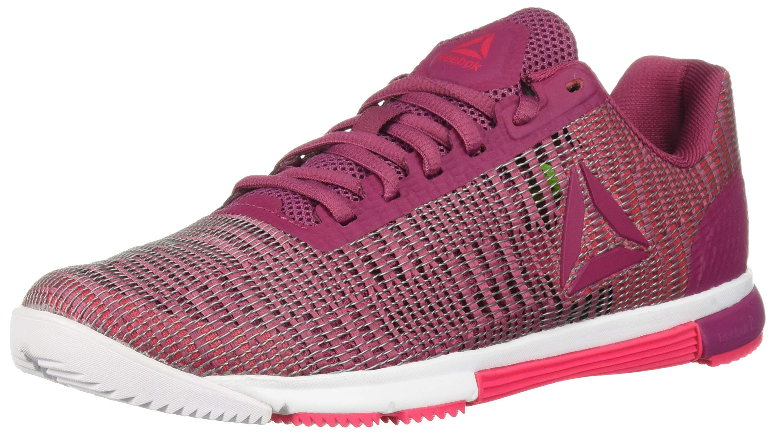 Reebok Women's Speed Tr Flexweave Cross Trainer, Berry/Twisted Pink, 5 M US