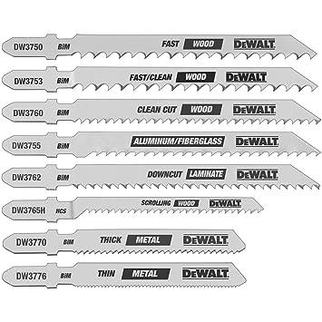 Dewalt dw3791 8 piece t shank jig saw blade set dewalt saws all dewalt dw3791 8 piece t shank jig saw blade set greentooth Image collections