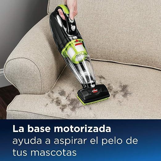 Bissell Pet Hair Eraser Aspirador de Mano para Pelo de Mascotas, 0 W, 68 Decibelios, Negro/Verde: Amazon.es: Hogar