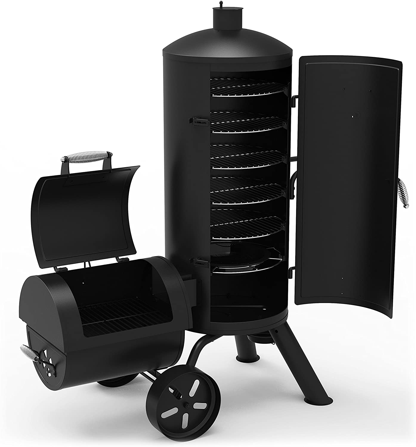 Dyna-Glo Signature Series DGSS1382VCS-D Heavy-Duty Vertical Offset Charcoal Smoker & Grill review