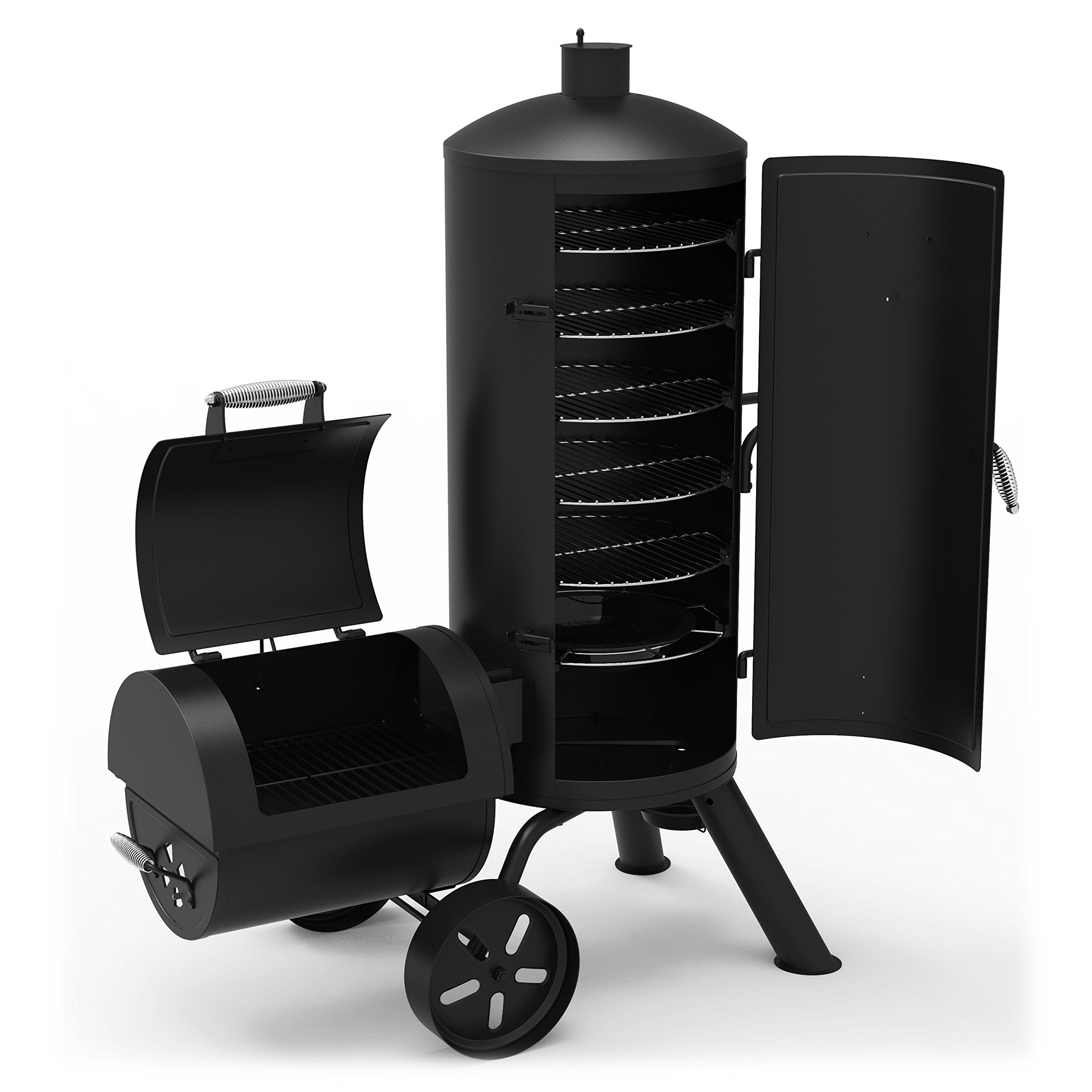 Dyna-Glo Signature Series DGSS1382VCS-D Heavy-Duty Vertical Offset Charcoal Smoker & Grill by Dyna-Glo