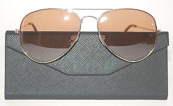 DASOON - Gafas de Sol Aviador Oro Unisex, categoría 3 UV400 ...