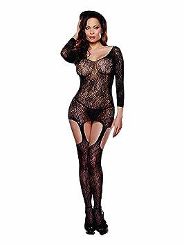 Dreamgirl 0186 Combinaison pour Femme Noir Grande Taille 44 50  Amazon.fr   Hygiène et Soins du corps 68b4d3f2b8d
