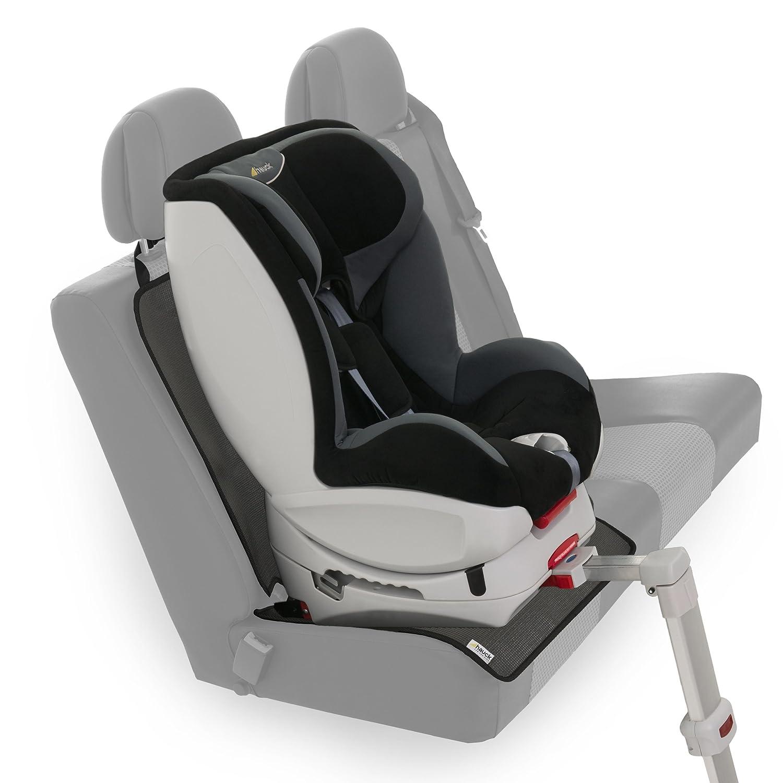 47 x 97 cm Reboarder und Babyschalen grau Hauck Sit on Me ISOFIX geeignete Unterlage f/ür Autositze gro/ßer Autositzschoner Kindersitzunterlage