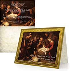 The Word (Jesus) Became Flesh - Box of 12 Cards and 12 Envelopes