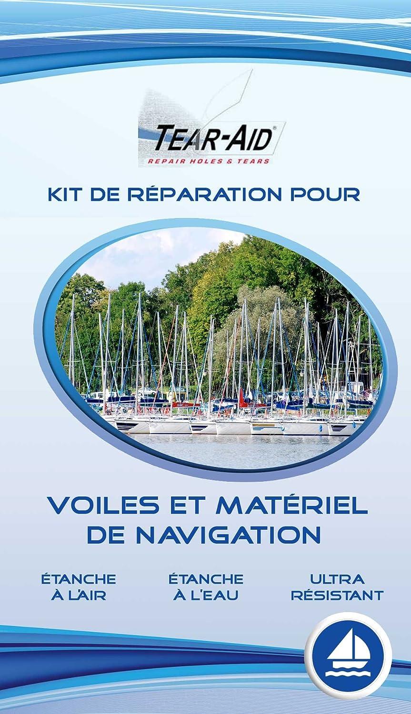 Lote polivalente de reparación instantánea y sin pegamento para veleros, barcos, planchas de vela, material de kitesurf y vehículos de vela: Amazon.es: ...