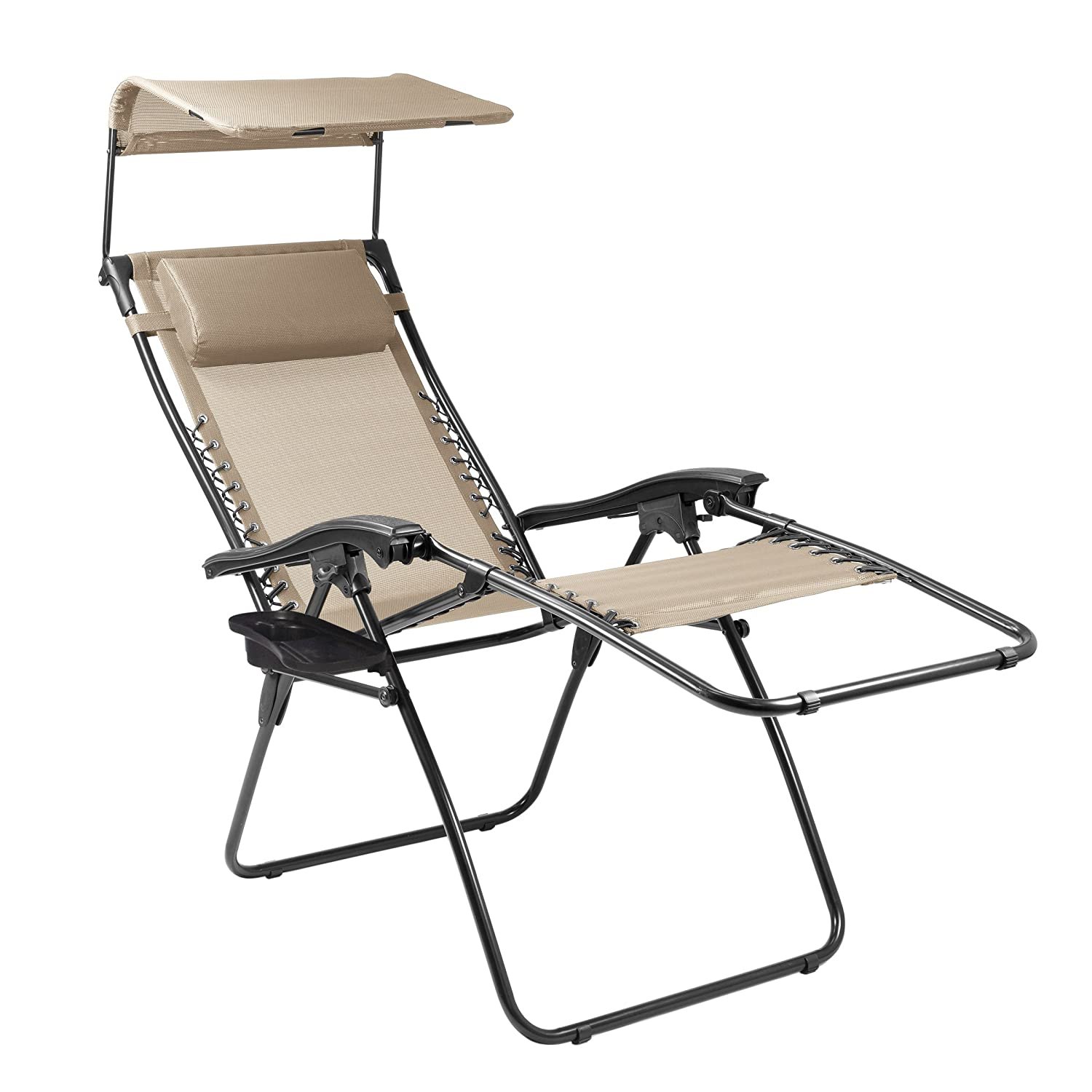 Amazon Picnic Time Portable Serenity Reclining Lounge Chair
