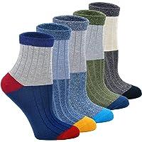 PUTUO Niños Calcetines De Algodón Cómodo Térmicos Calcetines, Calcetines para Bebés Niños para Primavera y Otoño y…