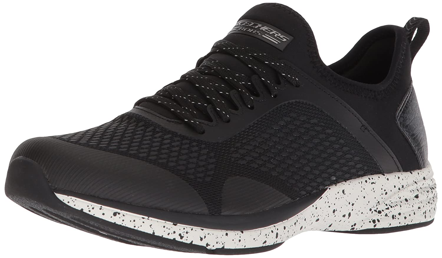 Skechers BOBS Heart from Women's Bobs Clique-Fierce Heart BOBS Sneaker B077T99X7Z 9 M US|Black 7af31d