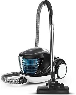 Team Kalorik Aspirador con filtro de agua antialérgico con capacidad de 13 L, 76 Db, 1200 W, Plateado/Azul/Negro, TKG VC 1021: Amazon.es: Hogar