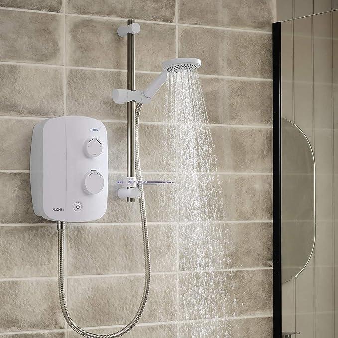 Triton Silent Running Thermostatic Power Shower - Best Silent Operator