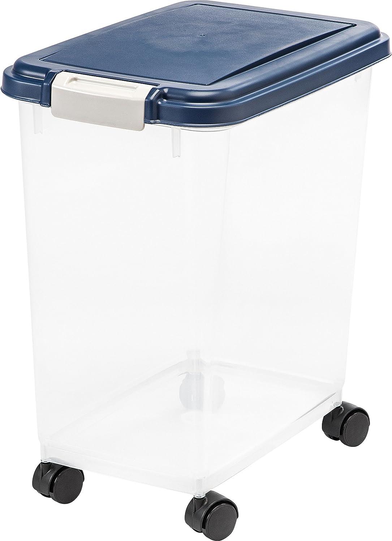 IRIS USA Airtight Pet Food Storage Container MP-8 : Pet Food Storage Products : Pet Supplies