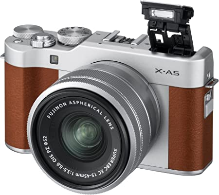 Fujifilm X-A5 w/XC15-45mm Lens Kit - Brown product image 2