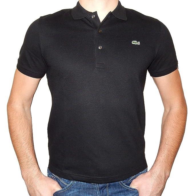 b14d9f41 Lacoste Men's Pique L.12.12 Original Fit Polo Shirt-Past Season