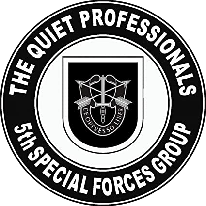 Amazon Com Military Vet Shop Us Army 5th Special Forces Group Quiet