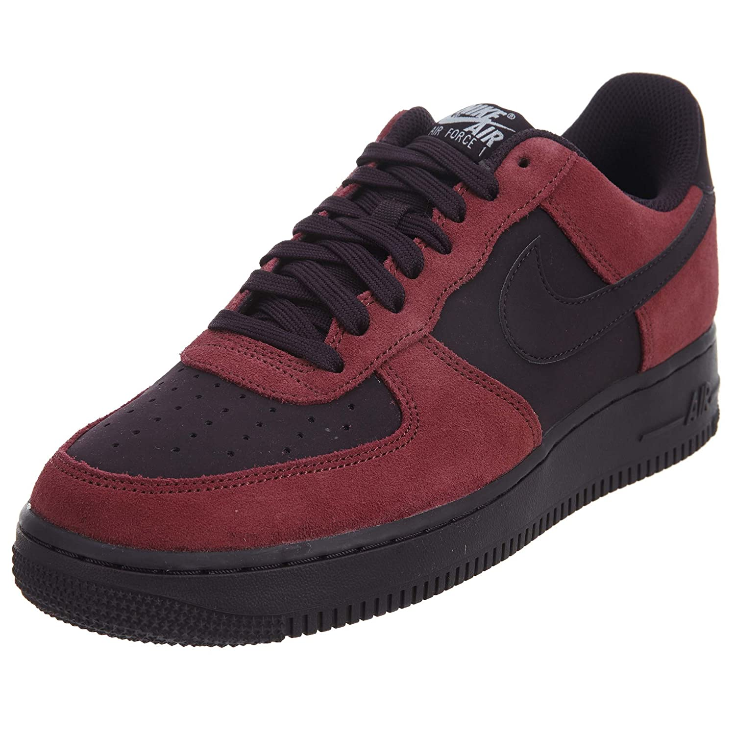 entrega gratis Port Wine, blancoo, negro Nike Air Force 1