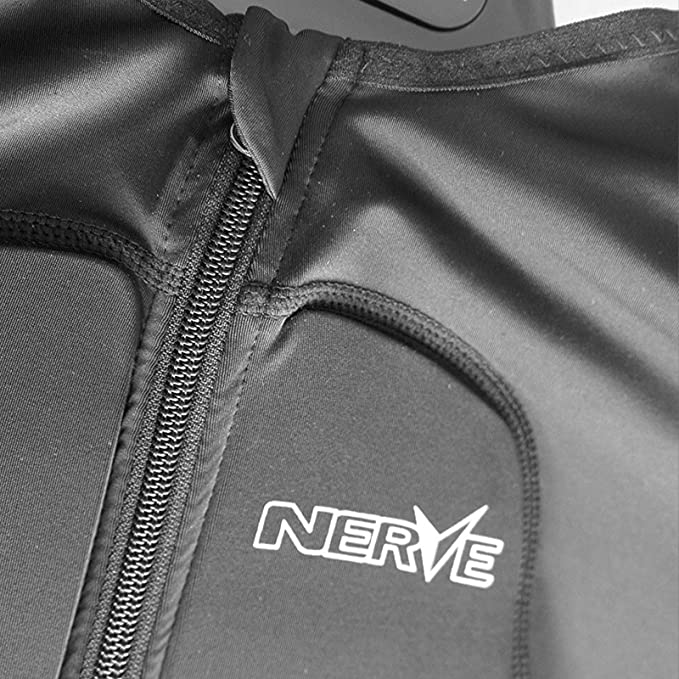 Nerve Shop Brustpanzer Motorrad Motocross Ce Protektorenjacke Armorgel Cross Protektoren Unterziehjacke Jacke Herren Damen Sommer Schwarz Xs S Auto