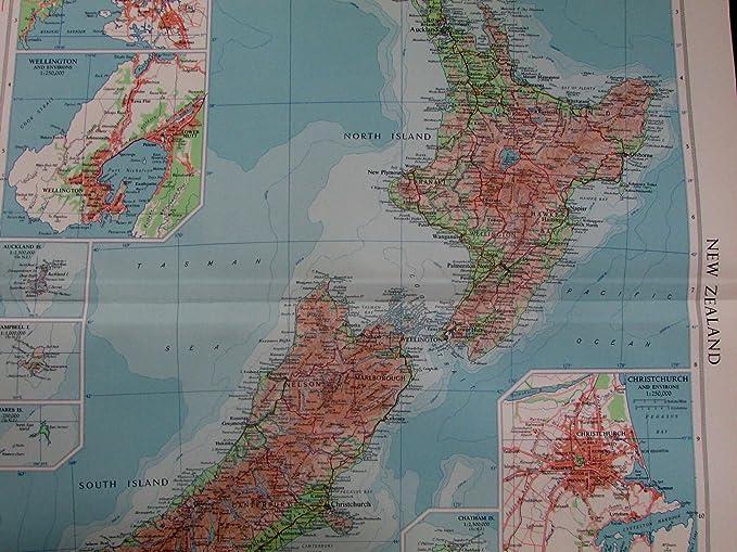 Amazon.com: New Zealand Auckland Wellington Christchurch ...