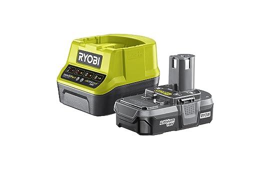 Ryobi RC18120-113 18V ONE+ Batería de litio 1.3Ah, verde, RC18120-113, 18V