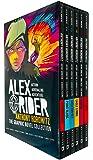 Alex Rider Graphic Novels Collection Anthony Horowitz 5 Books Set