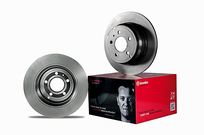 Set of 4 Brembo P23109 Rear Disc Brake Pad
