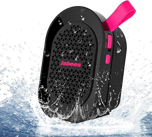 Jabees beatBOX MINI Portable Bluetooth Wireless Splashproof Speaker with In-Built Mic Pink