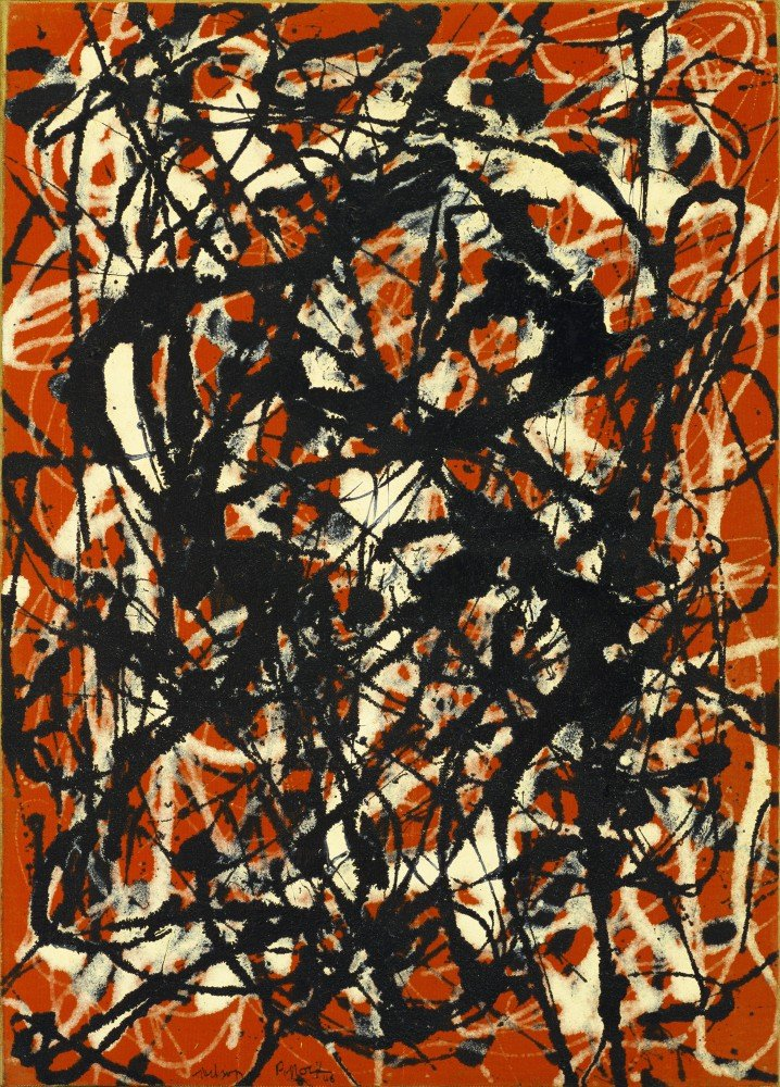 com the museum outlet jackson pollock form  com the museum outlet jackson pollock form canvas 24x18 inch posters prints