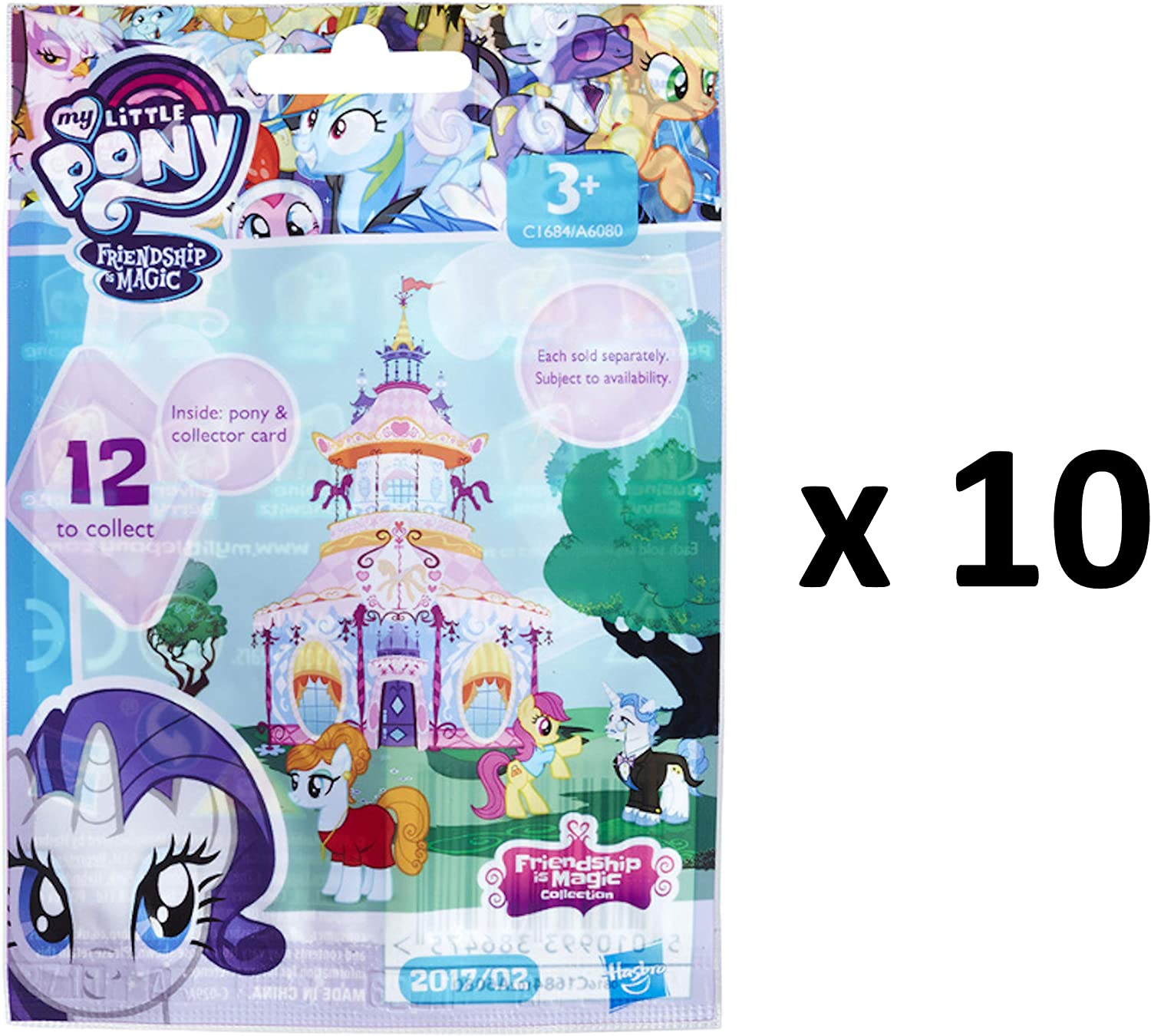 New My Little Pony Friendships Is Magic Mini 10 Inches Backpack