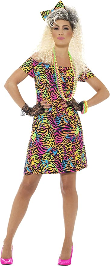 80s Costumes, Outfit Ideas- Girls and Guys Smiffys 80s Party Animal Costume £14.48 AT vintagedancer.com