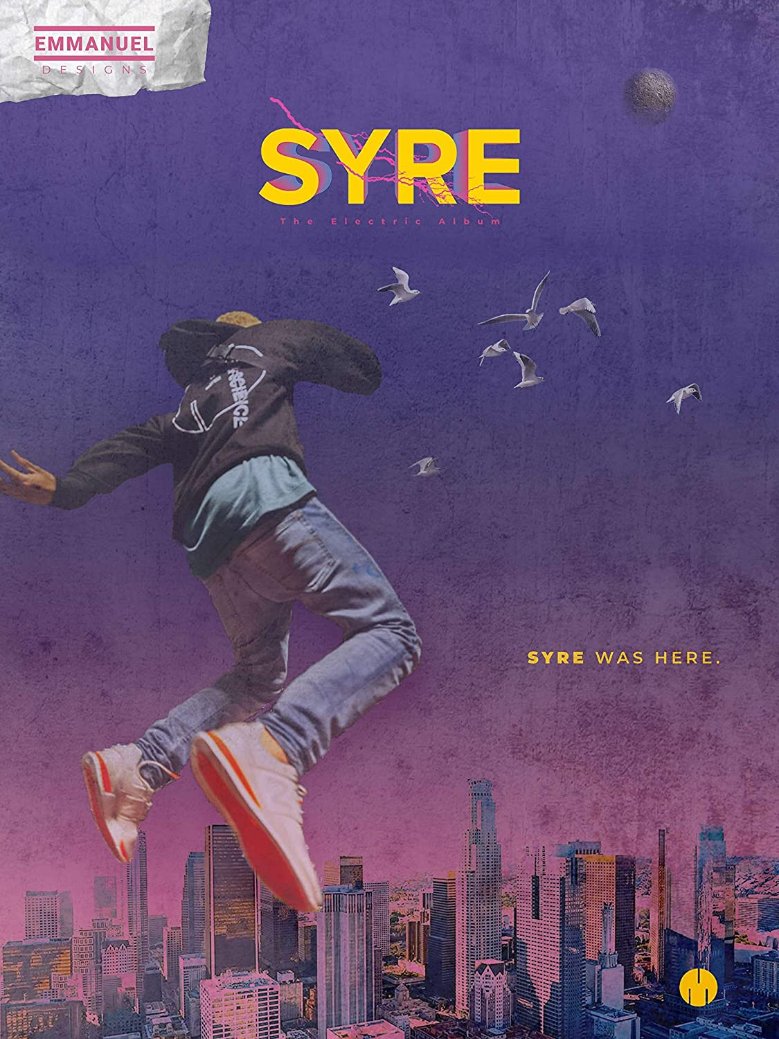 Syre the Electric Album Jaden Smith Poster Wall Decor Gift