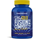 Blue Gold Fusion Compost NPK & Micronutrients for Flowering Cycles, Living Biology Water Soluble Paste 0.75 Lbs Concentrate