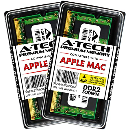 4GB Memory Kit (2x2GB) for Apple Macbook and Macbook Pro PC2-5300 667MHz Ram A1261 A1260 A1181 A1229 A1226 MA896LL MA895LL MB063LL/A MB062LL/A MB061LL/A MA701LL/A MA700LL/A MA699LL/A MB166LL/A MB134LL at amazon