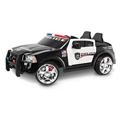 Kid Trax Dodge Charger Pursuit 12V Police Car KT1111WM Ride On: Toys & Games