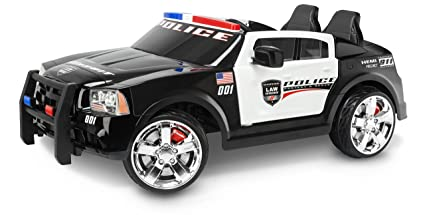 Amazon Com Kid Trax Dodge Charger Pursuit 12v Police Car Kt1111wm