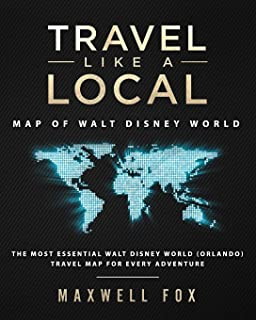 Disney Movie World Map.Orlando Popout Map Handy Pocket Size Pop Up Map Of Orlando And Walt