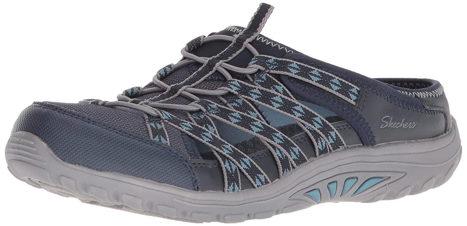 Skechers Damen Reggae Fest-Marlin Slip on Sneaker  355 EU|Blau (Navy)