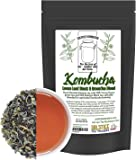 Kombucha Loose Leaf Black and Green Tea 50/50 Blend, 120 Servings, 4-Ounces Keemun Black & China Young Hyson Green Tea for Brewing Kombucha (8-Ounces Total)