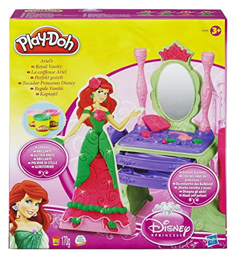 fa39091a6f Play-DOH Il Parrucchiere di Ariel Disney Princess: Amazon.it: Giochi ...