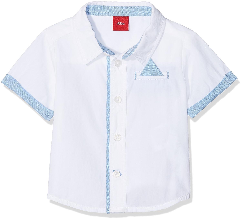s.Oliver Baby-Jungen Hemd 59.805.22.6409