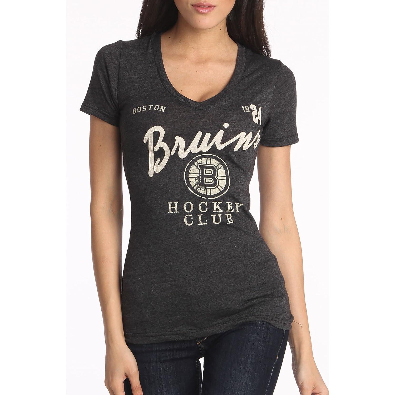 Boston Bruins Women's Helene T-Shirt Old Time Hockey