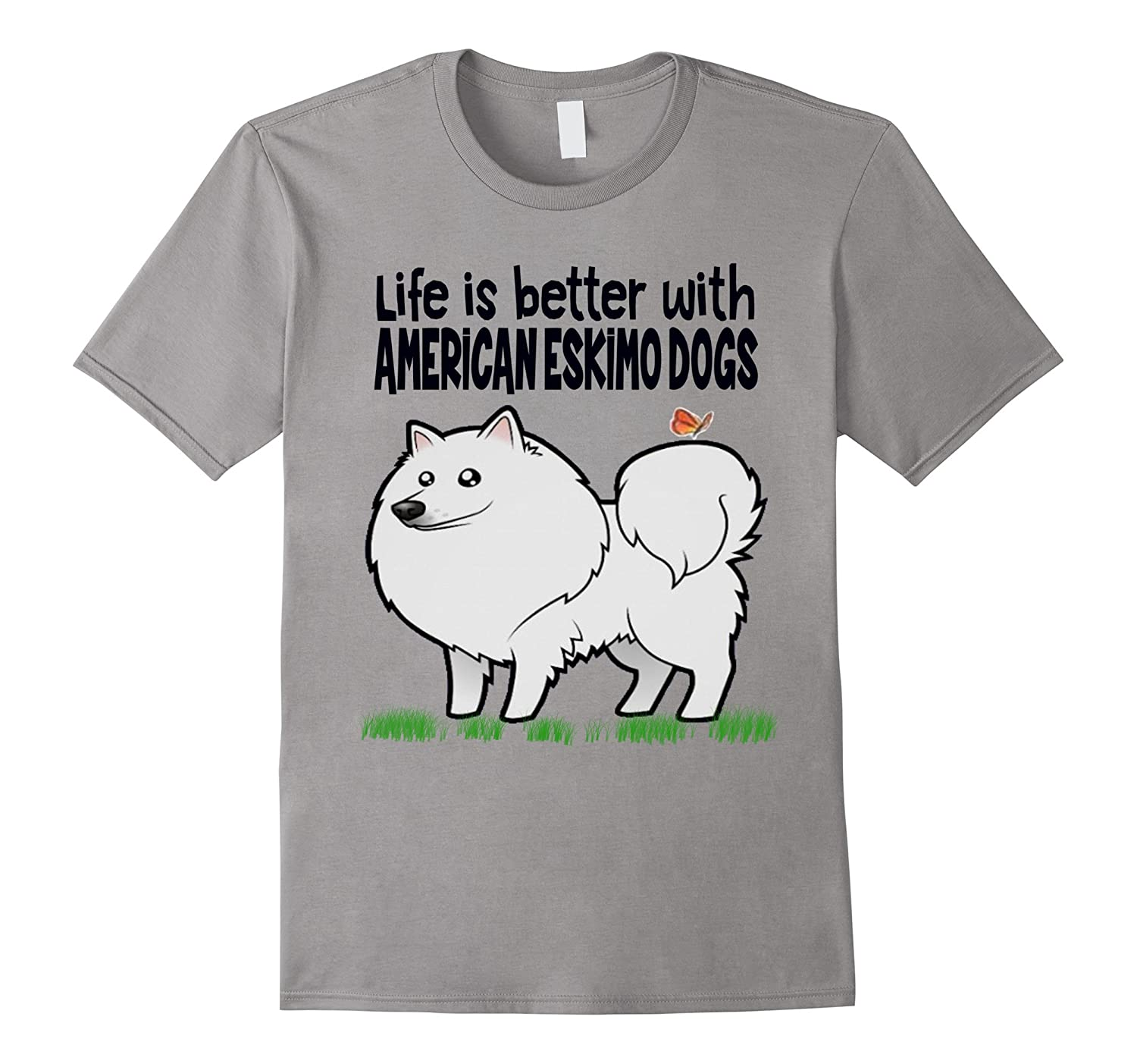 all women American Eskimo Dogs have you see tee-FL