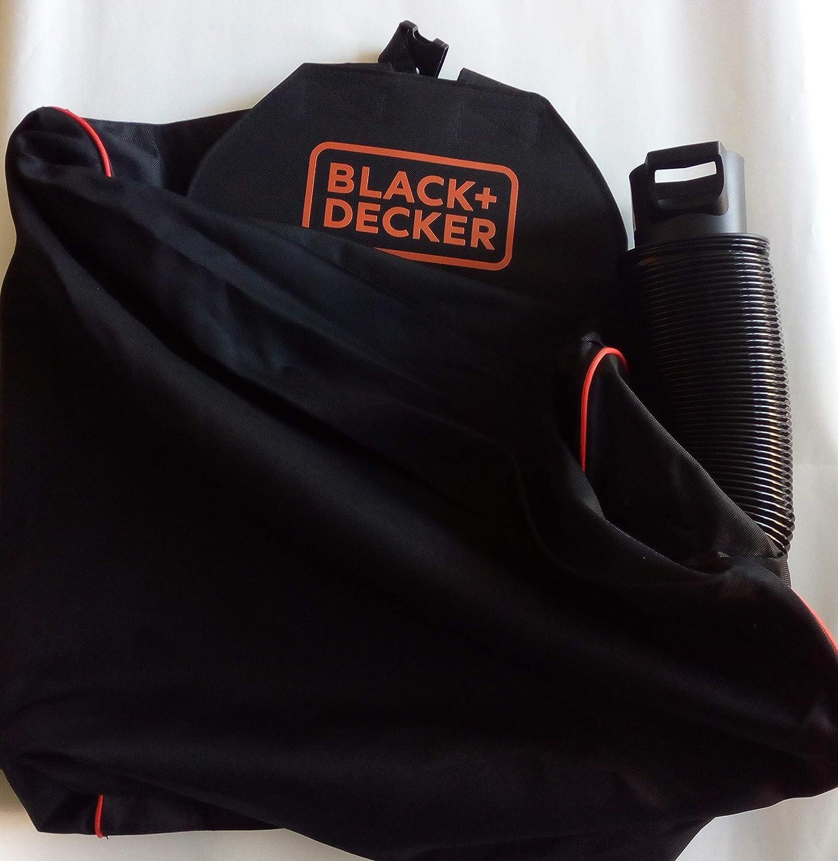 Bolsa recogehojas para aspirador soplador Black + Decker: Amazon.es: Electrónica