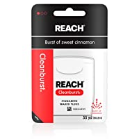 Deals on 6-Pack Reach Cleanburst Waxed Dental Floss 55 Yards