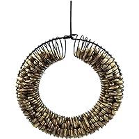 Whole Peanut Wreath Ring Black