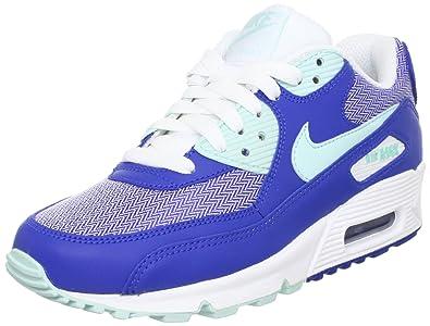 Nike Air Max 90 Sneaker blauweißmint, Schuhgröße:EUR 40