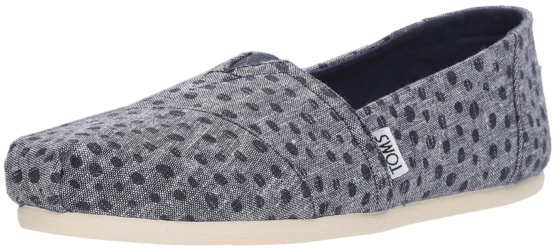 b532c966054 TOMS Classic Navy Slub Chambray Dots Womens Espadrilles Shoes   Amazon.co.uk  Shoes   Bags